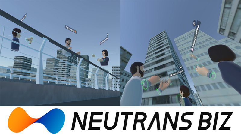 NEUTRANS BIZ adds 3 rooms including LargeField, where you can experience huge buildings at full scale in VR