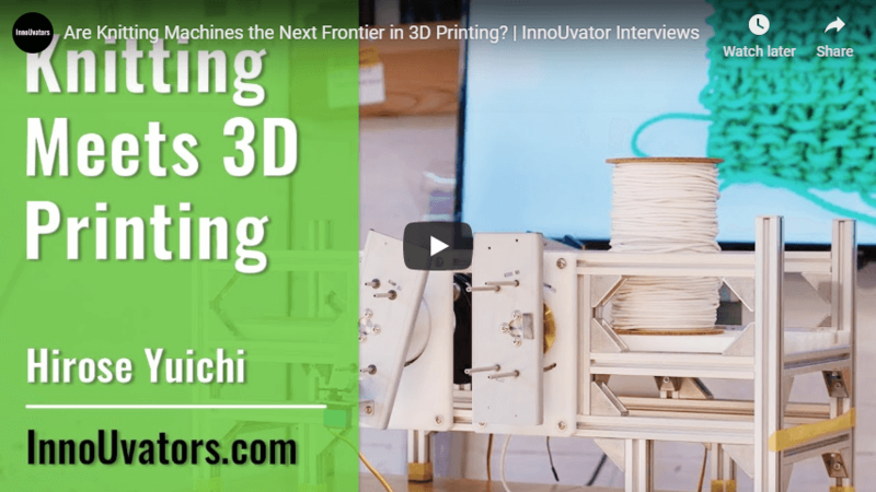 Are Knitting Machines the Next Frontier in 3D Printing? | InnoUvator Interviews