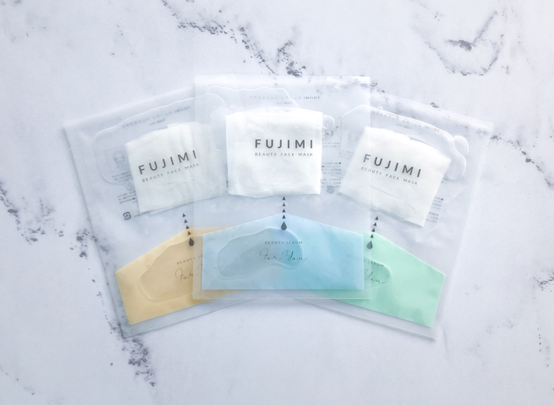 The FUJIMI BEAUTY FACE MASK customizes the beauty essence using diagnostic results
