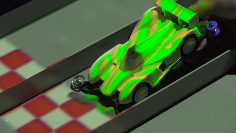 渋谷モディにミニ四駆アクティビティー「High Speed Colors」誕生