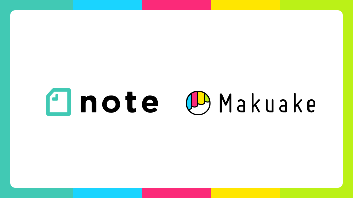 "Crowdfunding site Makuake forms business partnership with ""note"""