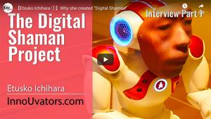 """【Etsuko Ichihara ①】Why she created """"Digital Shaman"""""""