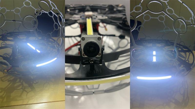 A.L.I.、狭い屋内の点検作業が可能な球体ドローンを開発