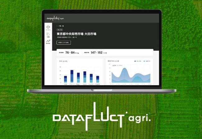 "Datafluct releases beta version of ""DATAFLUCT agri."" for prediction of purchase prices of vegetables using satellite data"