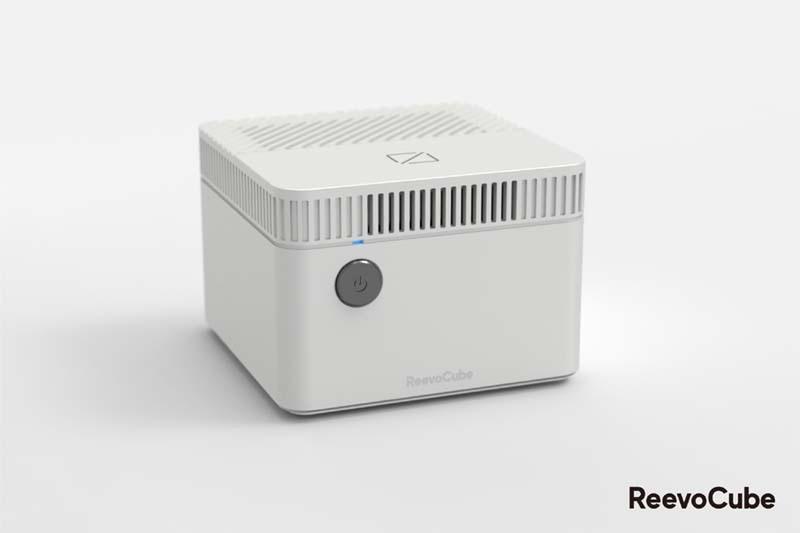 レモン1個サイズのWindows 10搭載デスクトップパソコン「ReevoCube」