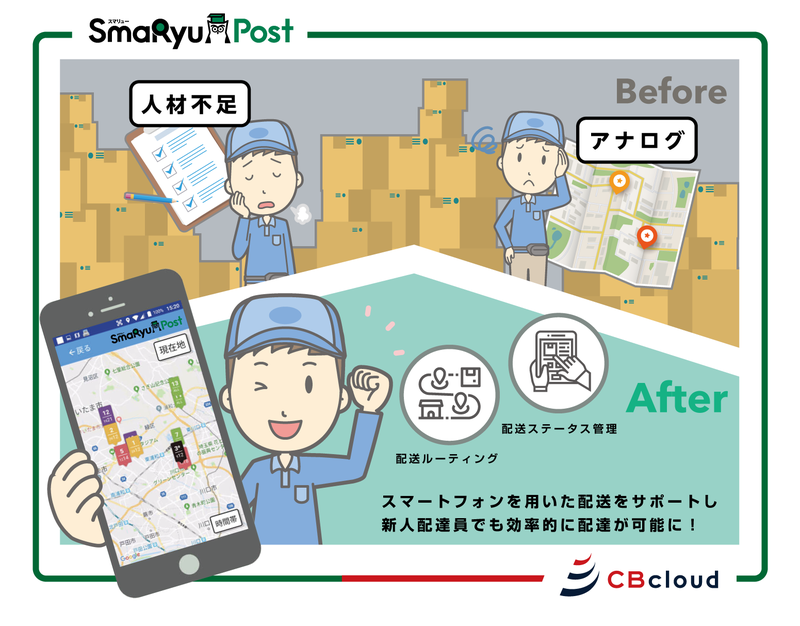 Japan Post introduces CBcloud's SmaRyu Post system to enhance home delivery efficiency