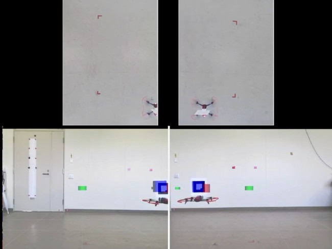 Attrac Lab develops indoor drone-controlling technology using overhead cameras and AR markers