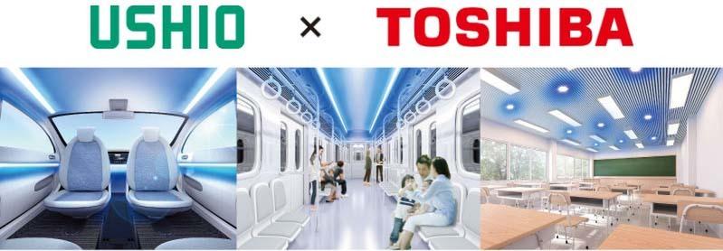 Ushio to jointly develop UV sterilization/virus suppression equipment with Toshiba Lighting & Technology