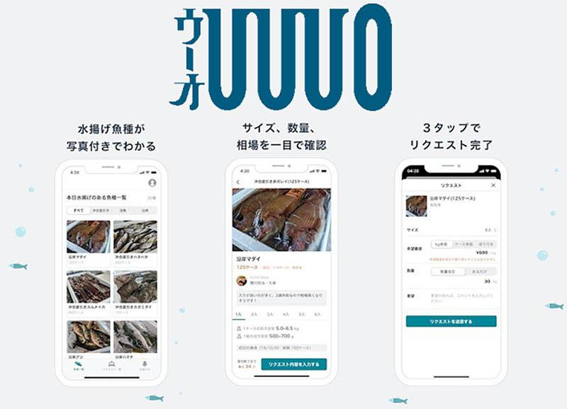 Uuuo enables ordering freshly caught fish via app