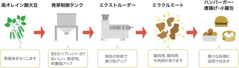 The Miracle Meat production process