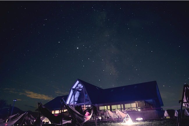 """Fukui University of Technology and Panasonic collaborate for a test installation of """"dark sky lighting"""" in Ono City, Fukui Prefecture"""
