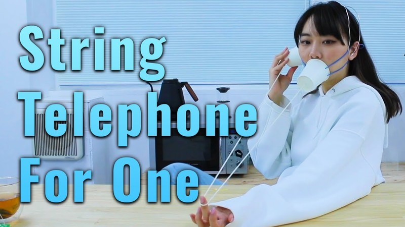 String Telephone for Talking to Myself | Wasted Creation
