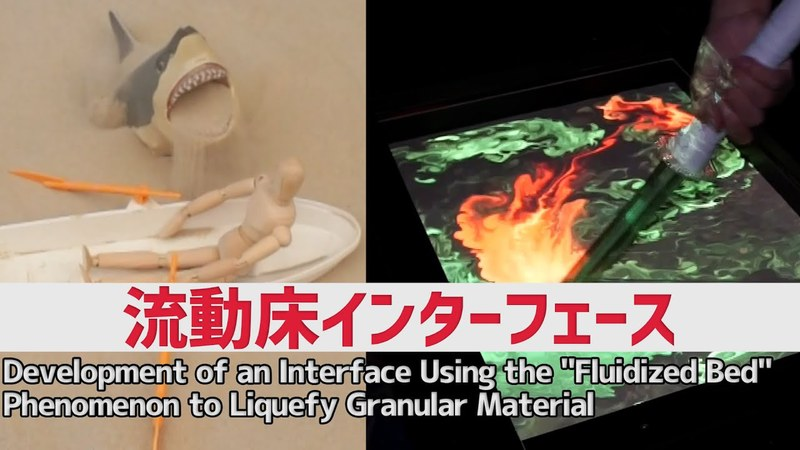 流動床インターフェース:Fluidized Bed Interface