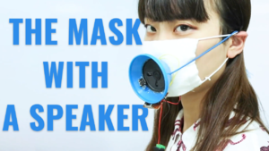 Voice-Amplifying Mask   Wasted Creation