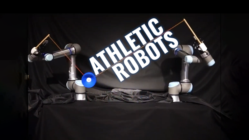 Fast-Moving Robots Learn to Adapt to New Situations