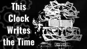 The Self-Writing Clock