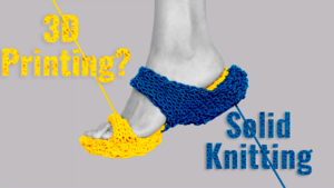 Solid Knitting Machine - Making Physical Objects Updatable