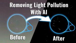 Capturing Clear Night Sky Photos Using AI