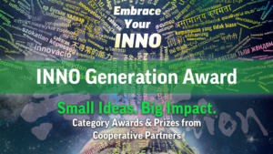 The INNO Generation Award: Rewards for Your Ideas!