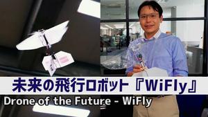 未来の飛行ロボット『WiFly』 | InnoUvators Interview